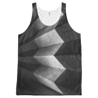 Zigzag All-Over-Print Tank Top