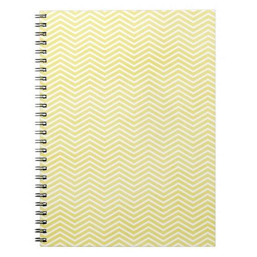 ZIGZAG AMARILLO TEX del MODELO de ZIGZAG de chevro Notebook