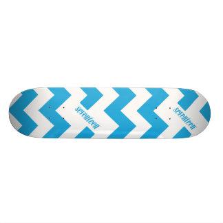 ZigZag Aqua Skateboard Deck