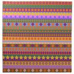 Zigzag azteca del sudoeste del desierto de los sue servilleta