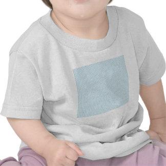 Zigzag - blanco y azul claro camisetas