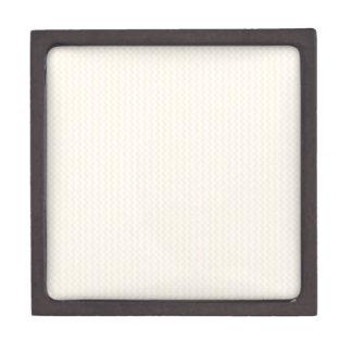 Zigzag - blanco y melocotón cajas de regalo de calidad