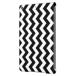 Zigzag blanco y negro funda para iPad air
