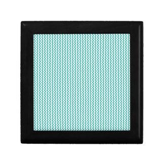 Zigzag - blanco y verdete caja de regalo