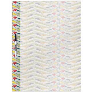 ZigZag Book Stacks Dry Erase Board