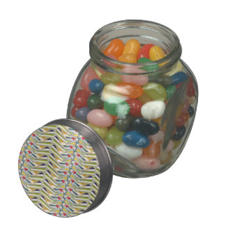 ZigZag Book Stacks Glass Candy Jars