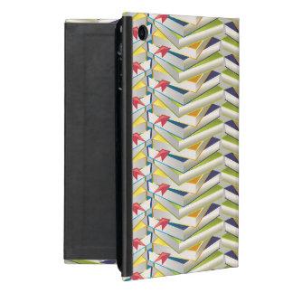ZigZag Book Stacks iPad Mini Cover