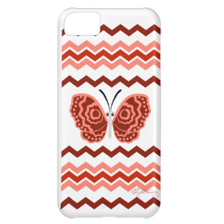 Zigzag Butterfly Cover For iPhone 5C