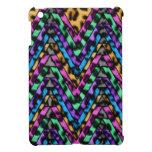 Zigzag colorido del guepardo