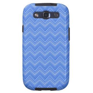 Zigzag de Chevron 03, azul Galaxy SIII Coberturas