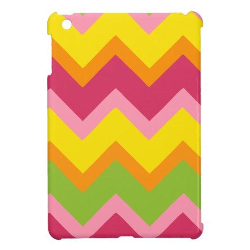 Zigzag del sorbete iPad mini protectores