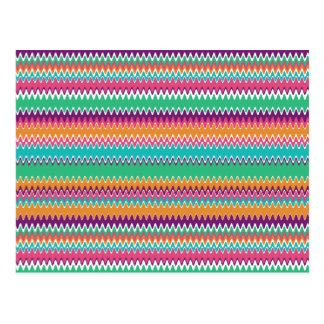 Zigzag del verano de Boho Postales