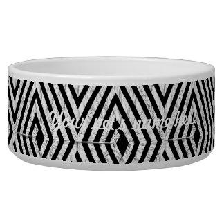 Zigzag Diamond Chevron Tribal pattern Bowl