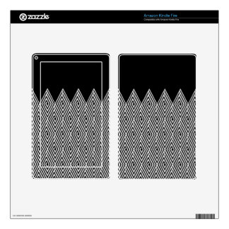Zigzag Diamond Chevron Tribal pattern Kindle Fire Decal