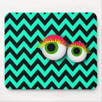 ZigZag eye Monster propellant-actuated device: Aqu Mouse Pad