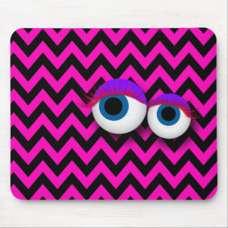 ZigZag eye Monster propellant-actuated device: pin Mousepad