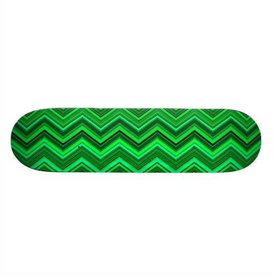 zigzag greens skateboard