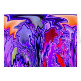 zigzag gremlins greeting card