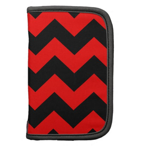 Zigzag I - Black and Red Planner