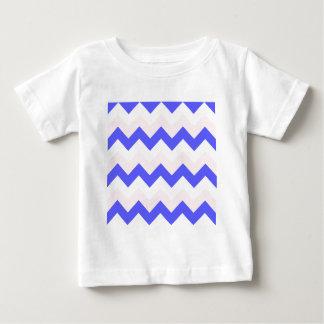 Zigzag I - Blanco, rosa y azul Remeras
