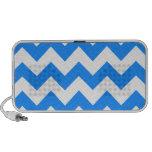Zigzag I - Blanco y azul de Dodger Mini Altavoces