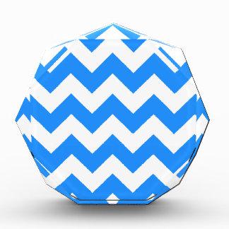 Zigzag I - Blanco y azul de Dodger
