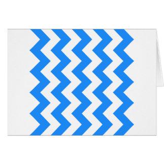 Zigzag I - Blanco y azul de Dodger Tarjeton