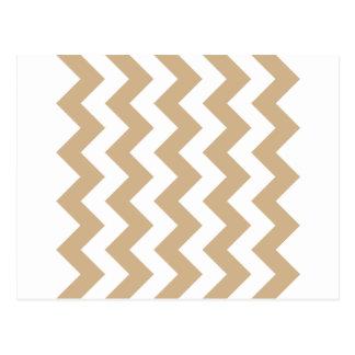 Zigzag I - Blanco y moreno Postales