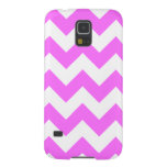 Zigzag I - Blanco y ultra rosa Carcasa Para Galaxy S5