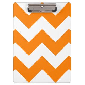 Zigzag I grande - blanco y naranja
