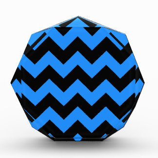 Zigzag I - Negro y azul de Dodger