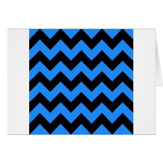 Zigzag I - Negro y azul de Dodger Felicitaciones