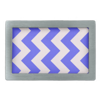 Zigzag I - Pink and Blue Belt Buckle