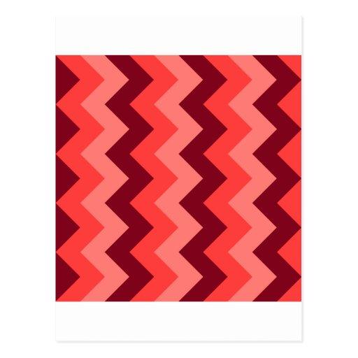 Zigzag I - Rojo 1 Postal