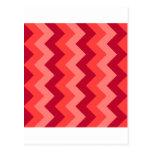 Zigzag I - Rojo 2 Postal