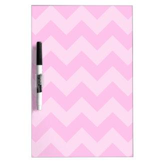 Zigzag I - Rosa y rosa claro Pizarras Blancas De Calidad