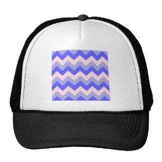 Zigzag I - Rosado, azul, violeta Gorra