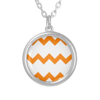 Zigzag I Single - Orange on White Jewelry