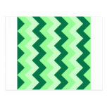 Zigzag I - Verde 1 Postal