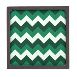 Zigzag I - Verde 3 Caja De Regalo De Calidad