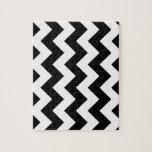 Zigzag I - White and Black Puzzle