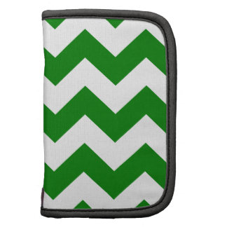 Zigzag I - White and Green Planners