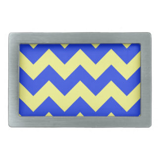 Zigzag I - Yellow and Blue Belt Buckles