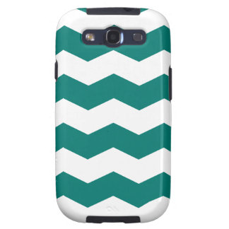 Zigzag II - Blanco y pino Gree Samsung Galaxy S3 Cobertura