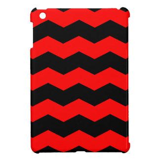 Zigzag II - Negro y rojo