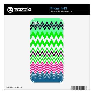 ZigZag iPhone 4S Skins
