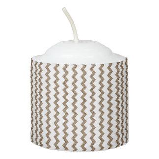 zigzag-lines votive candle