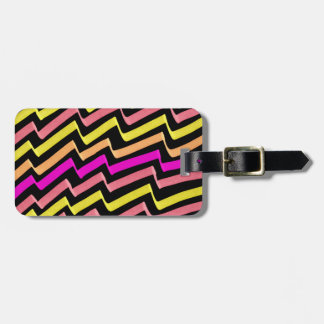 ZigZag Marker Pattern Tag For Luggage