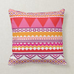 Zigzag mexico pattern pillow case