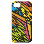 Zigzag multicolor iPhone 5 Case-Mate funda